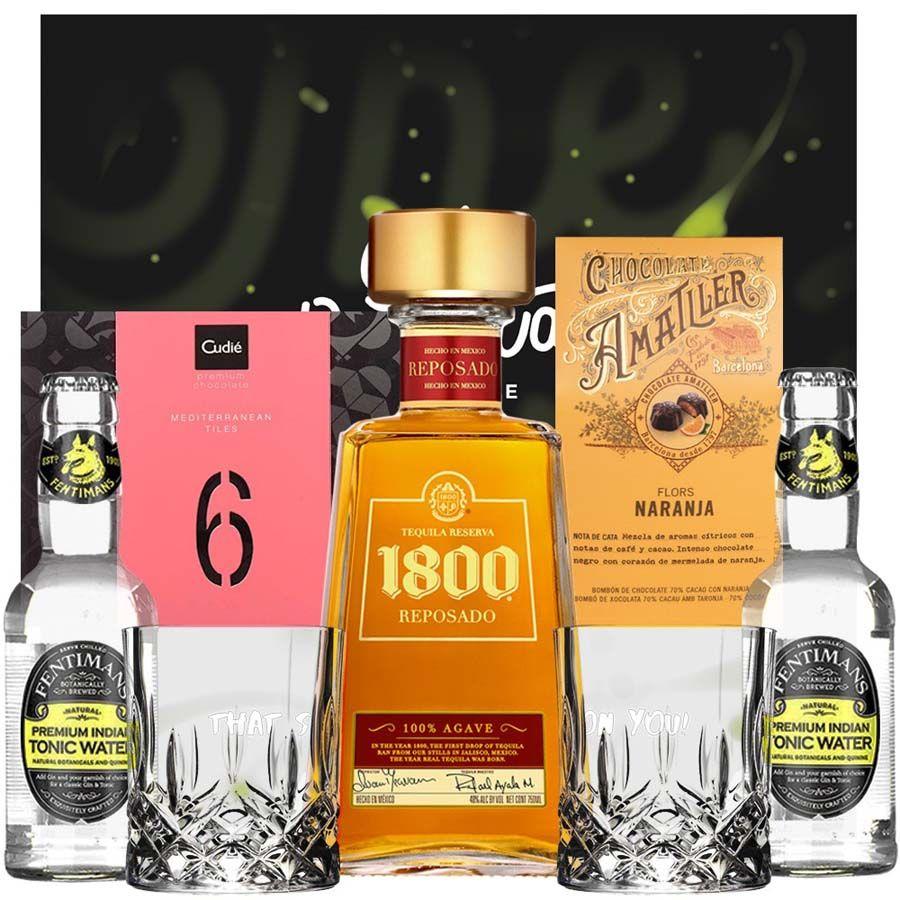 1800 Reposado - Pack Tequila & Tonic