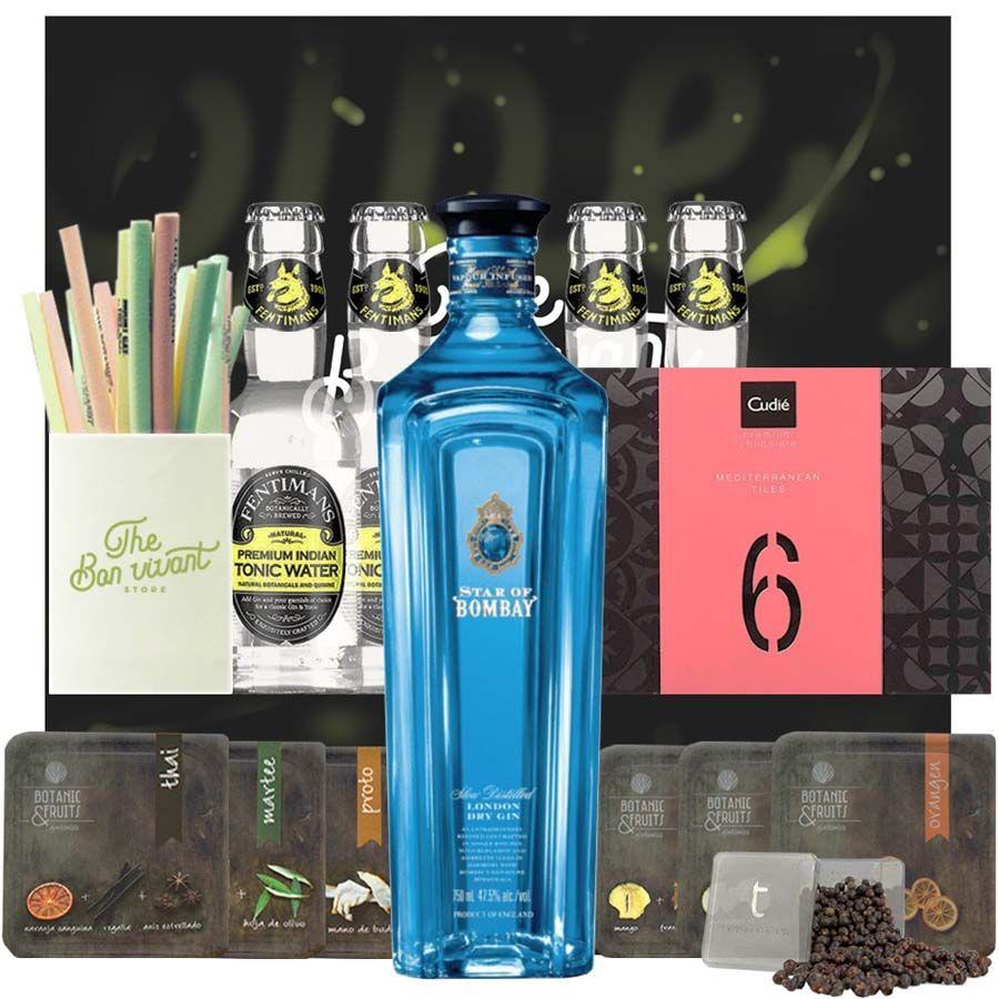 Estuche Gin Star of Bombay