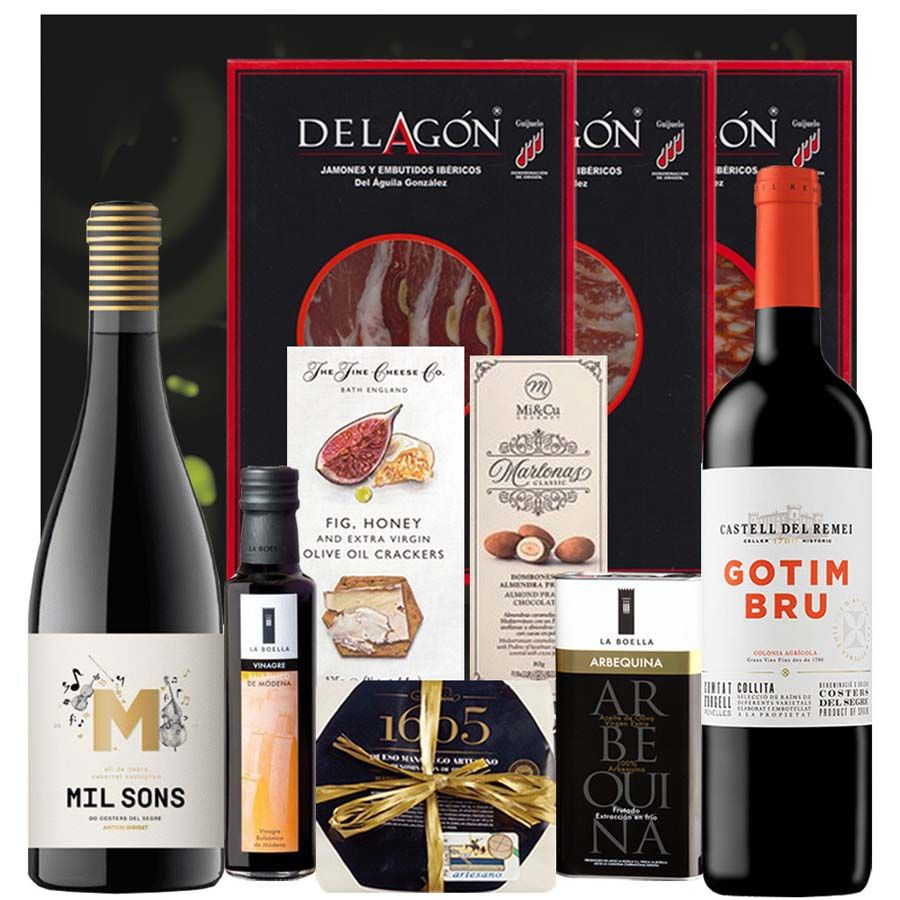 Pack Delicatessen y Vino - Costers del Segre