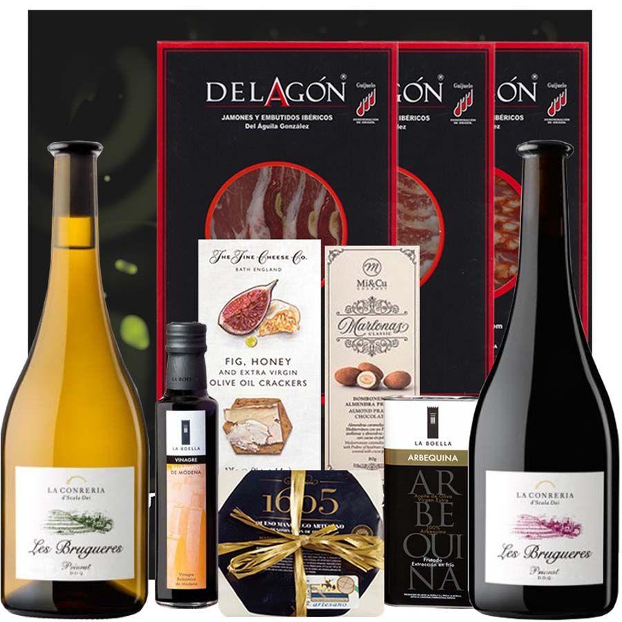 Pack Gourmet con Vino - Priorat