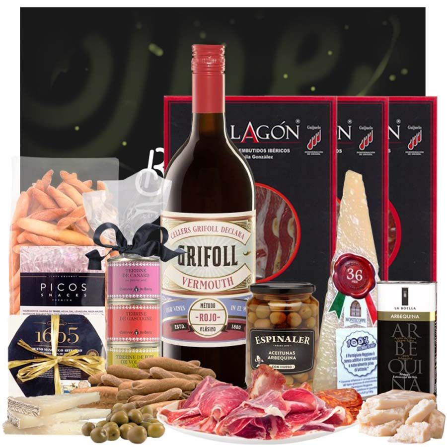 Pack Gourmet y Vermouth Grifoll