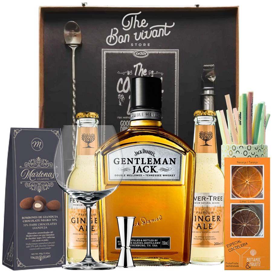 Regalo Jack Daniels Gentleman & Ginger Ale